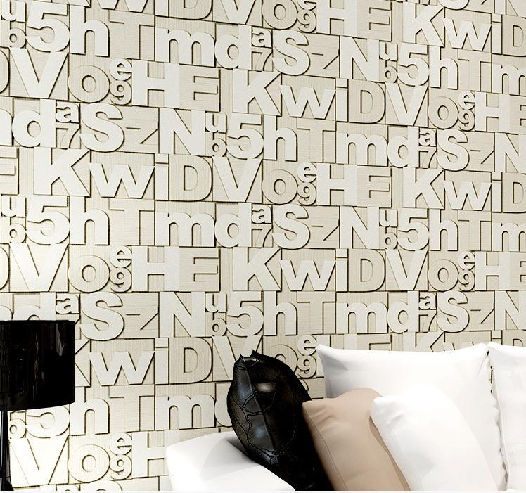 Wallpaper gift picture more detailed picture about free for Living room 6 letters