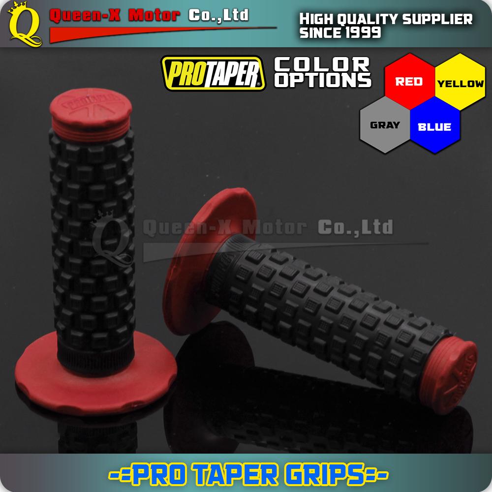 "New Design ProTaper Grips Rubber Gel Grip Fit MOTORCYCLE MOTOCROSS ATV Pit Dirt Bike CRF KTM YZF 7/8"" 22mm 1-1/8"" 28mm HANDLEBAR(China (Mainland))"