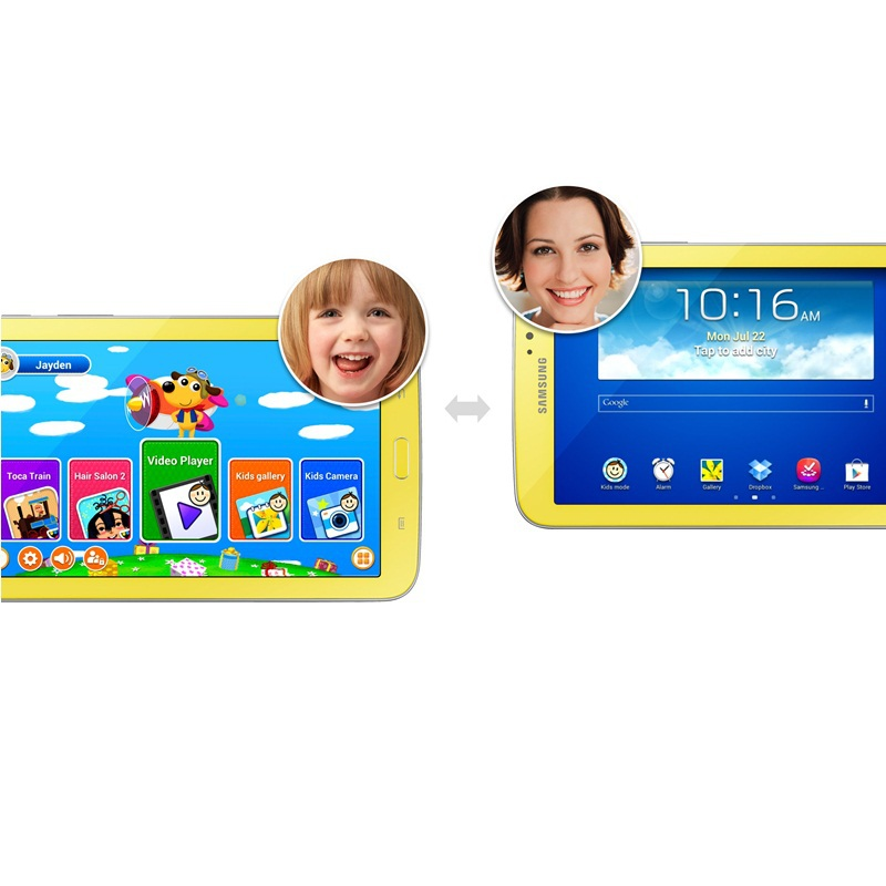 Hot 7 Inch Tab 3 kids SM-T2105 Android 4.1 1GB RAM 8GB ROM GPS WIFI kids tablet PC Bluetooth 7.0 Cheap Tablets Pc free shipping(China (Mainland))