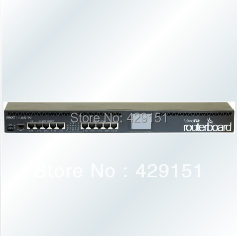 Mikrotik RB2011UIAS-RM RouterOS Lever5 1U Architect LCD Router(China (Mainland))