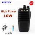 10W Walkie Talkie F 988 Waterproof UHF 400 470MHz 16CH Handheld Two Way Radio Anti noise
