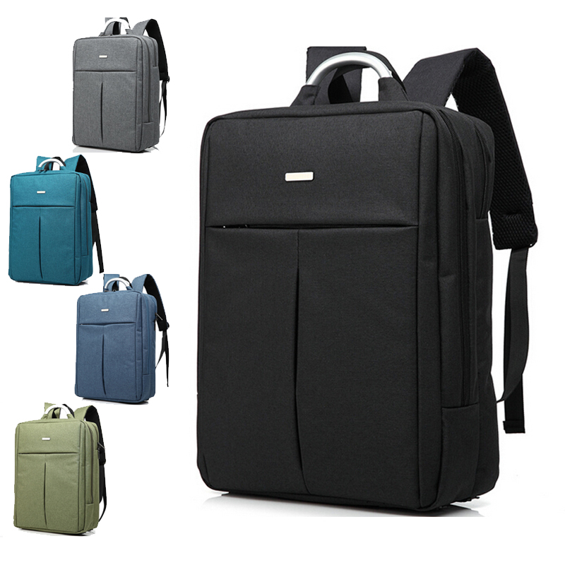 Brand Double Shoulder Designer 14 15 inch Men Women Notebook Computer Laptop Backpack for Travel Laptop Bag Student School Bag(China (Mainland))