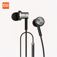 Buy Original Xiaomi Mi Hybrid Earphones Wired Control Piston Dual Driver Earphone Stereo Headset Circle Iron Noise Cancelling Mic for $17.99 in AliExpress store