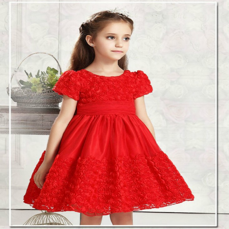 Party Dress For Little Girls - RP Dress