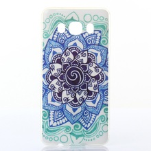 Galaxy J 5 (2016) TPU Bag Cover IMD Phone Back Shell Samsung J5 SM-J510 - Mandala Flower Tvc mall online 6 store