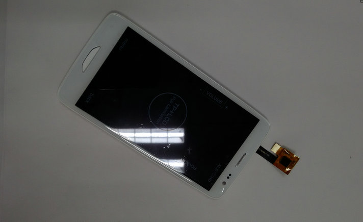 New original Display Screen+Touch Screen With Frame Assembly Replacement For iNew i3000 Cell phone white + free tools