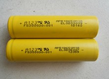 Original A123 18650 APR18650M1A 3 3V 1100mAh 30A High Power Lithium Ion rechargeable a123 lifepo4 battery