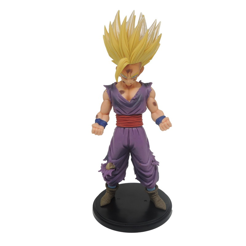 Anime Dragon Ball Z Action Figures Master Stars Piece The Son Gohan Super Saiyan dragonball Z Figurine PVC ChildrenToy 23cm(China (Mainland))