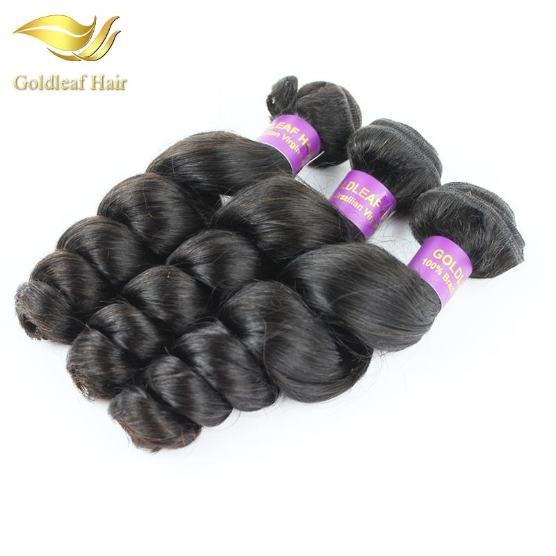 Гаджет  Goldleaf hair cheap brazilian curly virgin hair bundles 100% unprocessed curly human hair weave 4 bundles loose curly hair None Волосы и аксессуары