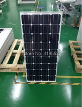 solar panel 100w 18VDC solar panel 12V sunpower solar cell with solar cables and mc4 connectors(China (Mainland))
