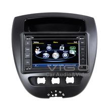 Vehicle Stereo GPS Navigation for Citroen C1 2005+ Toyota Aygo 2005+ Peugeot 107 2005+ Multimedia Sat Nav Autoradio Radio RDS