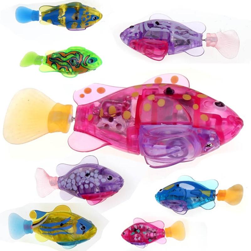 Kids Electronic Pets Toy Fashion Robot Fish Swimming Diving Electric Turbot Clownfish Children New Fun Toys 3pcs(China (Mainland))