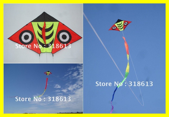 Free Shipping 2013 New Hot Lovely Snake Kites With A 18cm Long Tail Best Gifts