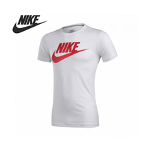 Original Nike AS NIKE TEE-FUTURA FADE SLIMT men's knitted T-shirts 589840-102 Sportswear free shipping