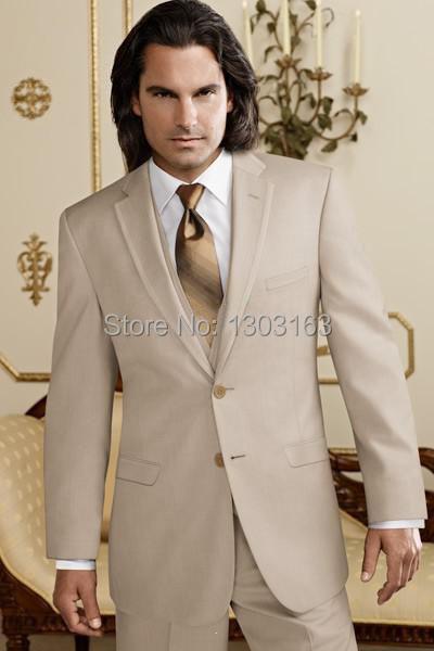 2016 Suits Fashion Design Notch Lapel Groom Tuxedos Groomsmen Men's Wedding Suits Best man Suits (Jacket+Pants+Vest+Tie)(China (Mainland))