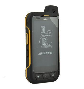 2015 new Sonim 4G IP69 waterproof Quad Core 1G 16G Walkie Talkie 4 5 celular android