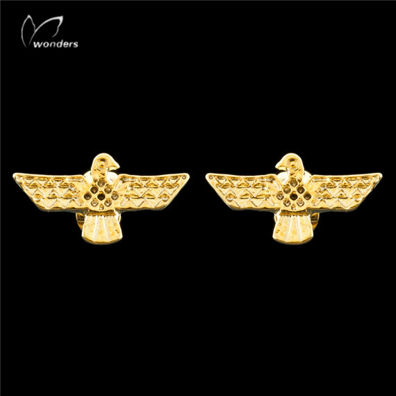 30pair/lot 2015 Minimalist Cute Bird Jewelry Unique Dainty Ethnic Eagles Charm Stud Earrings for Women<br><br>Aliexpress