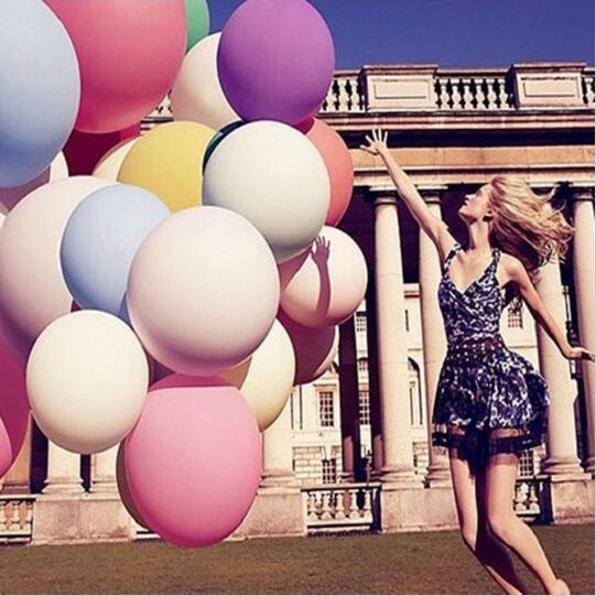 """Wedding Decoration 36"""" 90CM Helium Big Latex Party Large Giant Balloons Metallic Inflatable Air Balloons Arch 1 pcs V624363(China (Mainland))"""