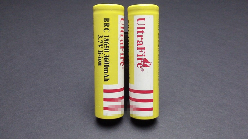 2015 New Direct Selling 10xultrafire 18650 3600mah 3 7v Rechargeable Battery