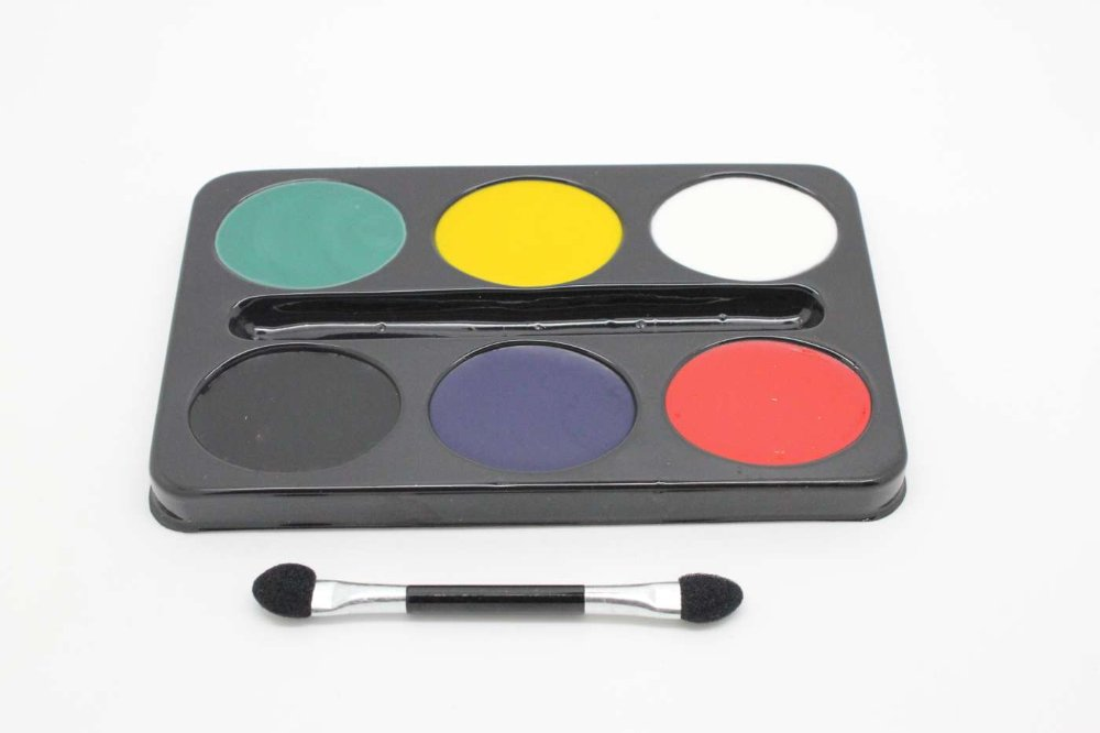 6 colors face paint, 2012 London Olympics national flag European football cup painting - Show You The Best store