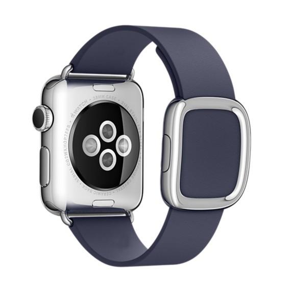 Гранада Подлинная Кожаный Ремешок для Часов iWatch Apple Watch 38 мм 42 мм Запястье Современные Пряжка Ремень Магнитный Браслет Нескольких Цветов