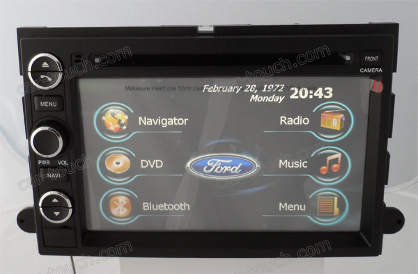 For F150/F250/F350/Explorer/Edge/Sport Trac Car Radio DVD Player GPS Navigation Multimedia Entertainment System
