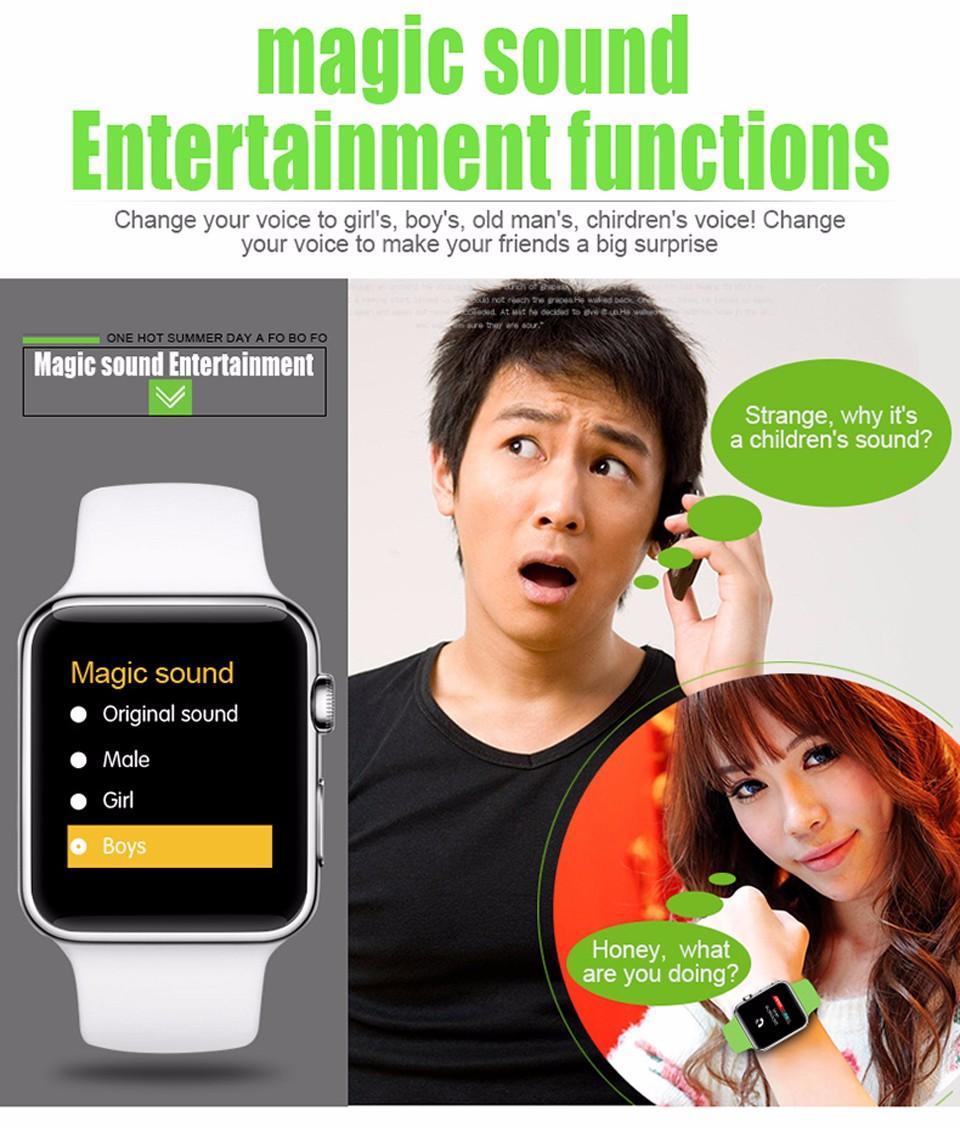SHAOLIN Bluetooth Smart Watch 11 SmartWatch for apple iPhone IOS Android Smartphones looks like apple watch Reloj Inteligente-13
