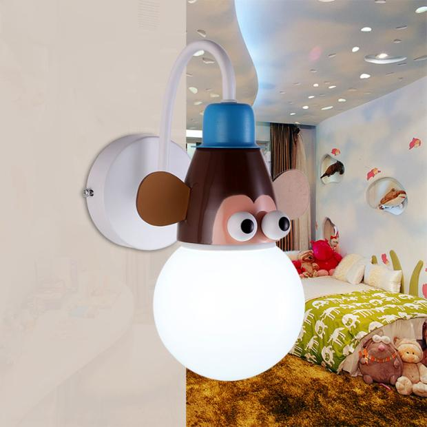 Aliexpress.com : Buy Cartoon Kid Wall Lamp LED Children Wall Light Child Bedroom Lighting ...