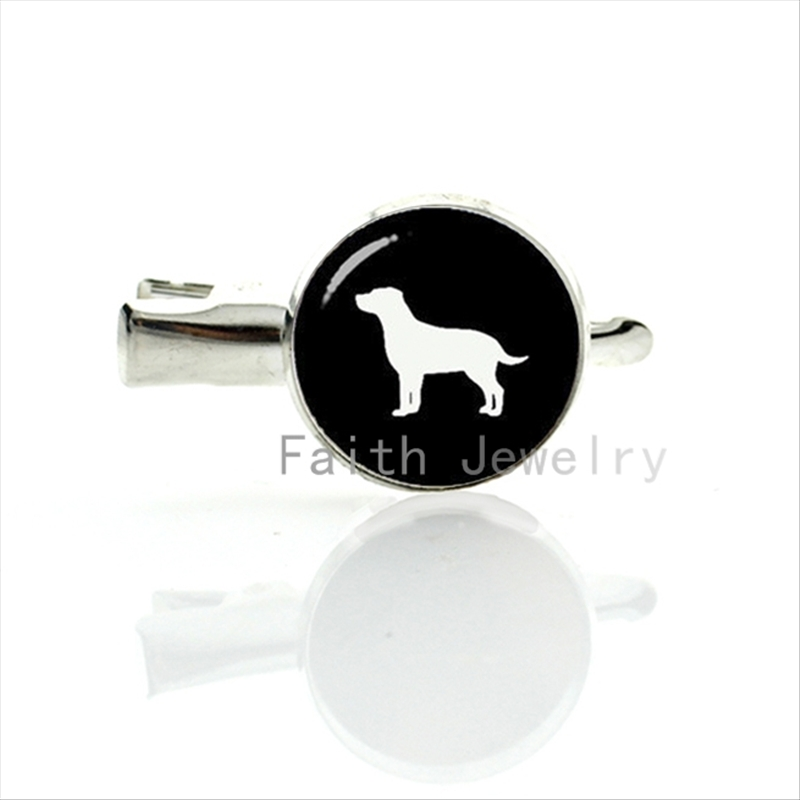 Lovely Pet Dog image hairgrips cute Labrador Retriever Dog silhouette profile picture hair clip pins dog lovers best gifts T367(China (Mainland))