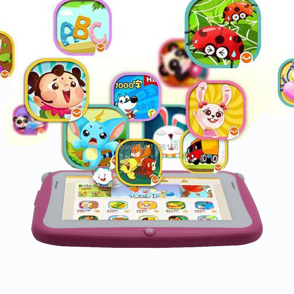 4.3 Inch KIDS Android Tablets PC WIFI Dual camera tab pc gift for baby and kids tab pc 512MB 4GB KIDS tab