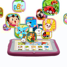 4.3 Inch KIDS Android Tablets PC WIFI Dual camera tab pc gift for baby and kids tab pc 512MB 4GB KIDS tab(China (Mainland))