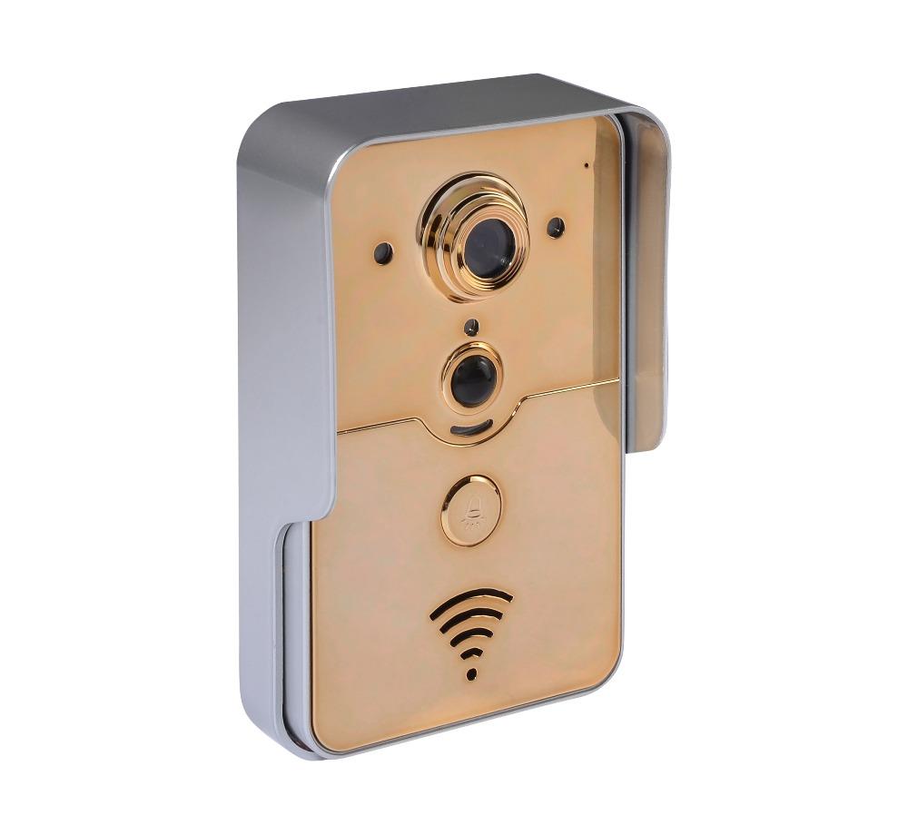 HD 720P 1.3 Mega-Pixels IR Night Vision APP Remote Control WIFI Video Door Phone <br>