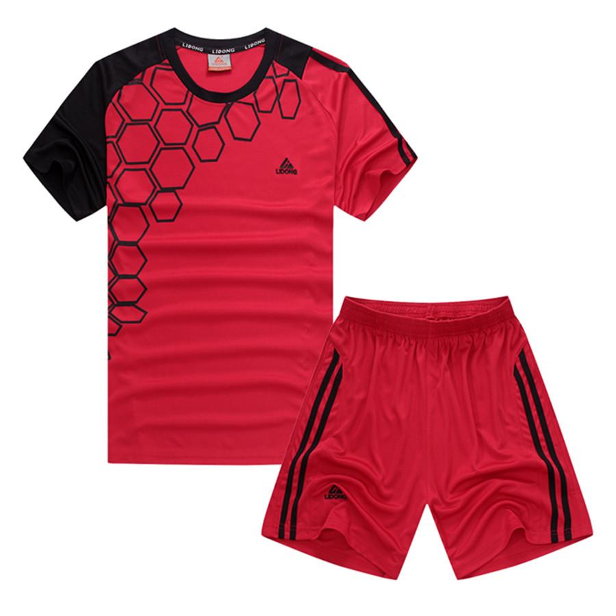 2017 New Kids Football Jerseys Soccer Uniforms Boys Futbol Kits Training Suits Breathable Short Jersey Sets Print Name & Number(China (Mainland))