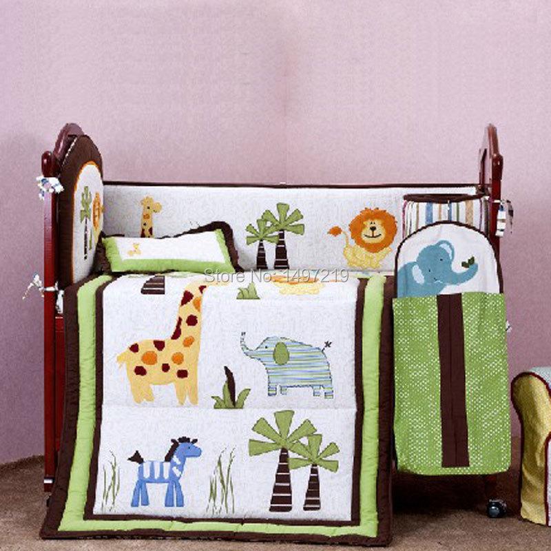 PH034 crib child bedding set  (8)
