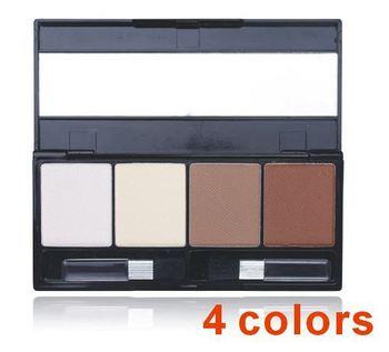 2015 горячий новый 4 цветов затенение выделите тени для век корректор бронзатор палитра теней Comestic макияж XM050