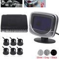 Brand New 6 Waterproof Beep Alert Rear View Car Parking Sensors with Display Monitor