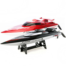 FT012 Upgraded FT009 2.4G Brushless RC Racing Boat Red(China (Mainland))