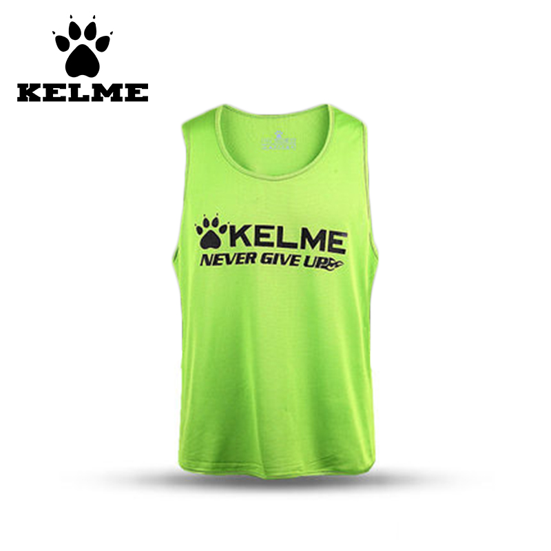 KELME Best Quality Men Football Team Uniform Jerseys Cheap Authentic Stitched Outdoor Basketball Vest Sport Sleeveless Sweater08(China (Mainland))