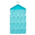 16 Pockets Foldable Wardrobe Socks Briefs Organizer Clothing Hanging Bags Hanger Closet Shoes Underpants Storage Bag