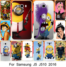 (isn't J5)For Samsung Galaxy J5 2016 Case J510X 5.2 inch Beautiful Princess Despicable Minions Luffy Painted Cover - Shenzhen Blue Sky 3C Products Co.,Ltd. store