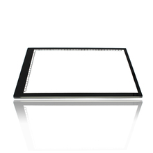 0.55mm Ultra thin A4 LED Light Pad Acrylic Copy Tracing Borad Art Craft Stencil Tracing Tattoo Board Light Box As HUION A4