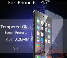 2016 NEW For Alppe iPhone 6 4.7 Inch Premium Tempered Glass Screen Protector for iPhone 6 6S Toughened protective film