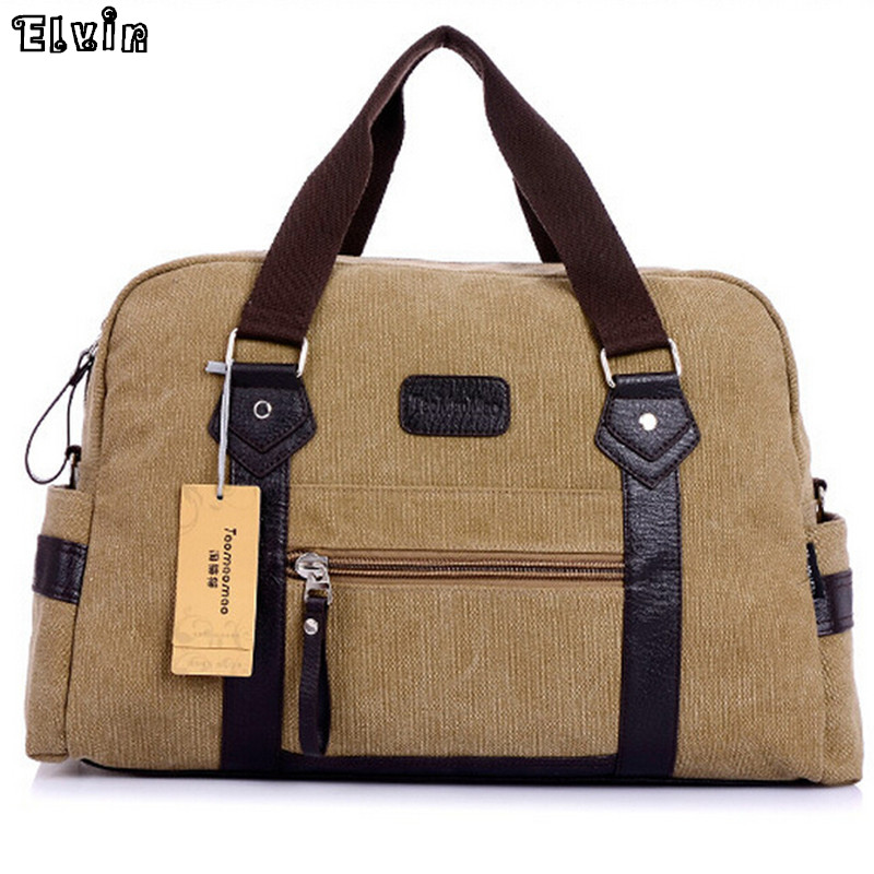 Man Travel Bag High Quality Large Men Canvas Travel Duffle Shoulder Bags Male Messenger Briefcase Bag For Laptop Ipad Books 6367(China (Mainland))