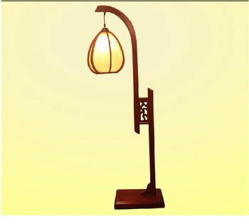 Quality solid wood antique new chinese style floor lamp classical table lamp classical lanterns