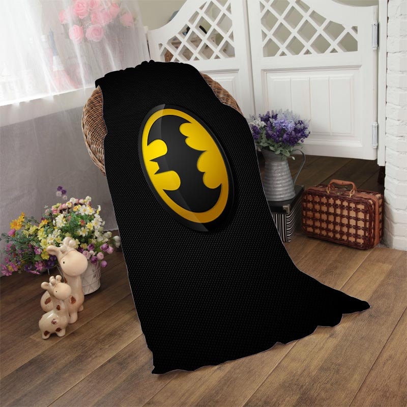Batman logo Bath Towel 50*100cm,70*140cm,70*150cm,80*160cm Beach Towel Drying Washcloth Swimwear Towels(China (Mainland))