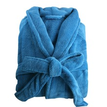 Bath Robe Women Bathroom Robe Men Bathrobe Men Pajama Thick Long Spa Robe Shower Homewear Coral Fleece(China (Mainland))