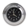 7 8 1 Motorcycle Bike Handlebar Mount Black Dial Clock Black Thermometer Temp Free Shipping
