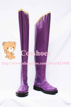 Custom made purple Gakupo Kamui Shoes boots from vocaloid Cosplay
