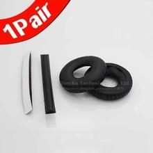 1 Pair Replacement Ear Pads Cushion & Headband Cover for Sennheiser HD25 HD25SP HD25-1 PC150 PC151 PC155 65mm Headphones