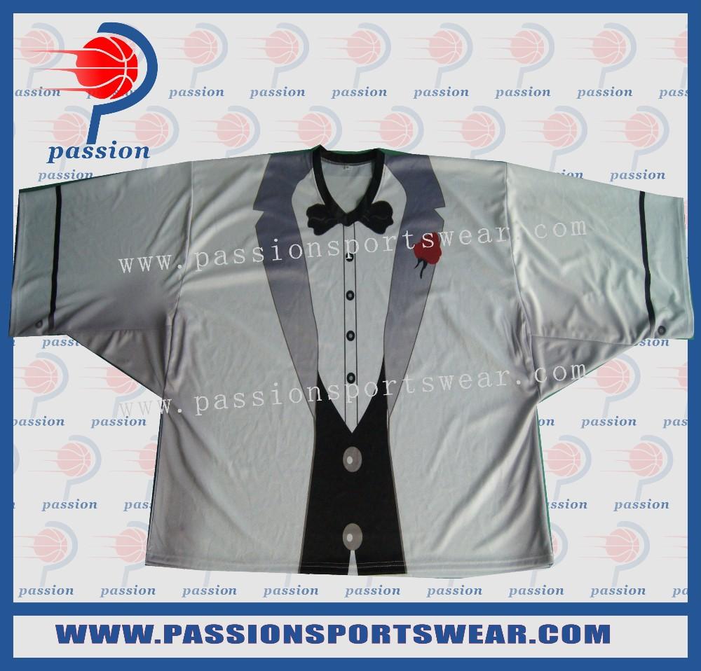 Cheap custom high quality sublimation Ice Hockey Team jersey(China (Mainland))